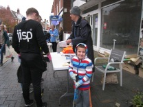 Local Company Jisp ready for action with help from a young supporter